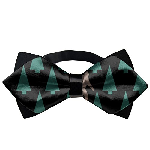 YEAHSPACE Men's Sasquatch Spotted BowTie Gift Pre-tie Party Teen Oufits