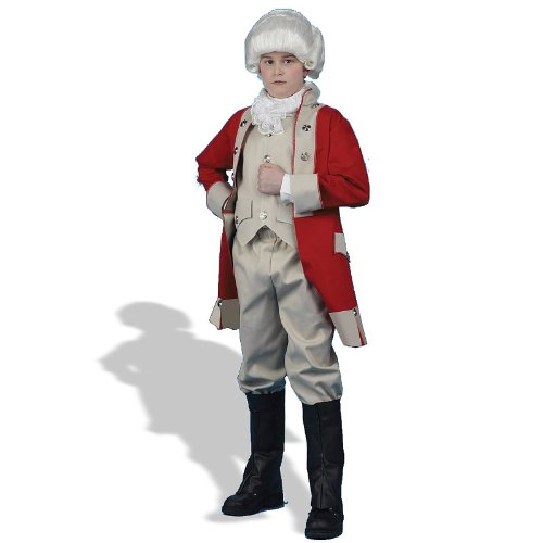 Redcoat Costumes (Kids British Redcoat Costume)