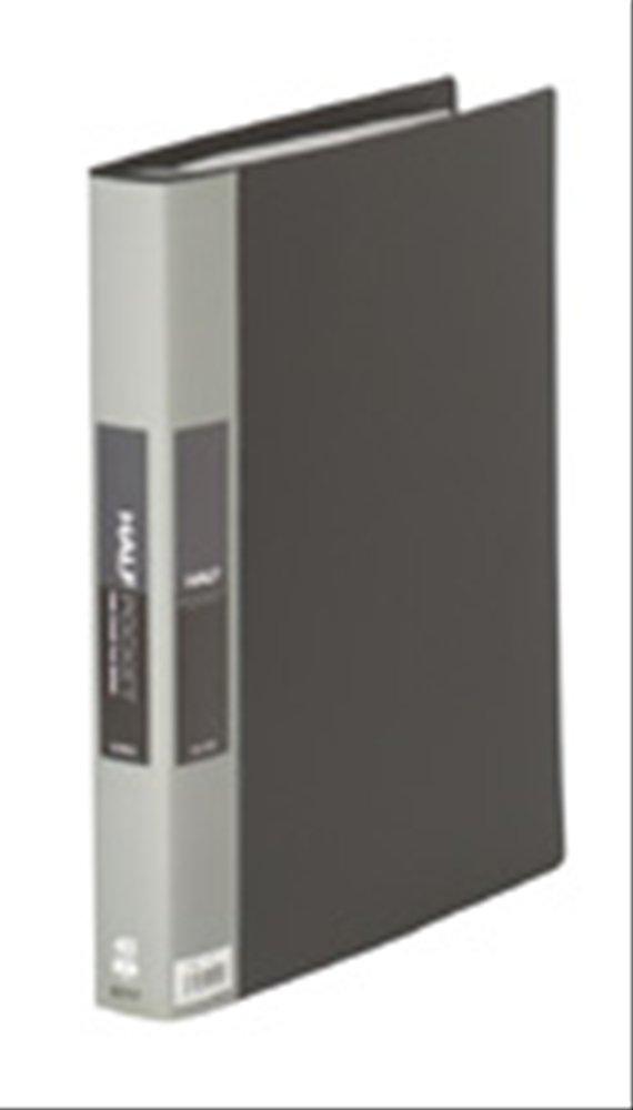 King Jim clear file pocket half replacement formula A4S black 179W Black (japan import)