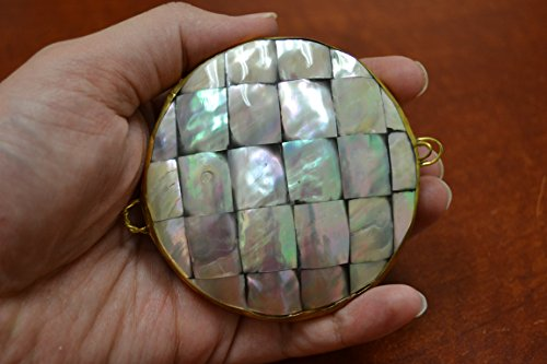 Mother of Pearl Sea Shell Trinket Box Purse (Shell Trinket Box)