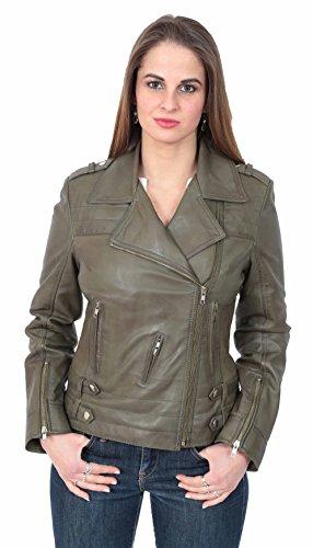donna Fashion da oliva Giacca A1 verde Goods TUSq88A