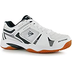 Dunlop Mens Indoor Squash Shoe Molded Non Marking Sole Footwear Brand New