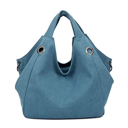 Donne Del Vhvcx Tela B Borsa Grande Canvas A Borse Moda Handbag Di Casuale Sacchetto Capienza Canapa Tracolla 8rRrn6