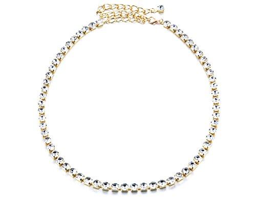 Women Girls Belly Dance Waist Chain Rhinestone Inlaid Slim Waist Belt (L, (Rhinestone Belly Chain Belt)