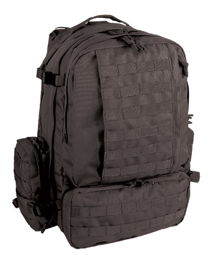 Voodoo Tactical Large Tobago Cargo Pack – Tactical Black, Outdoor Stuffs