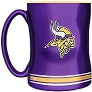 NFL Minnesota Vikings Sculpted Mug, 14-Ounce