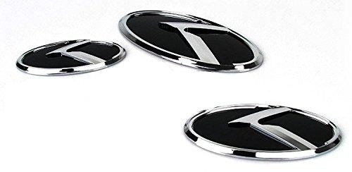 K- Emblem Front Grille+Trunk Emblem+Steering Horn Emblem 3ea (set) For Kia K5 / Optima 2010~2015