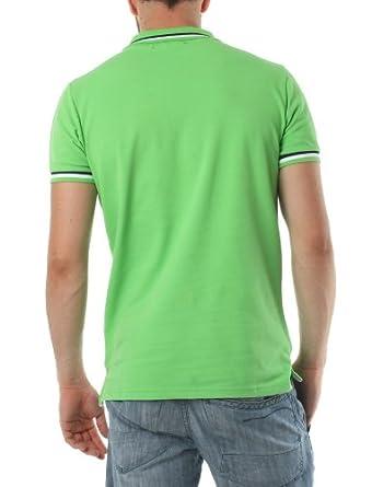 Polo FRANK FERRY Homme ff52 vert - -: Amazon.es: Ropa y accesorios