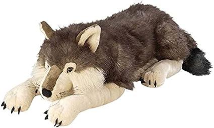 Plush Wolf Toy