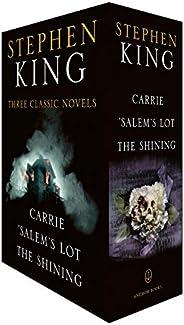 Stephen King Three Classic Novels Box Set: Carrie, 'Salem's Lot, The