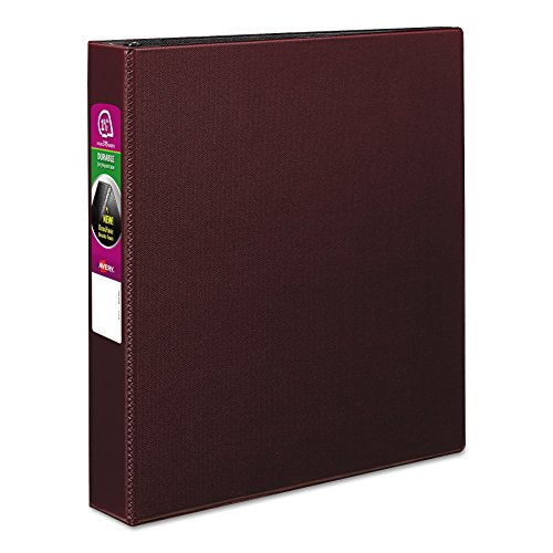 Avery 27352 Durable Binder with Slant Rings, 11 x 8 1/2, 1 1/2