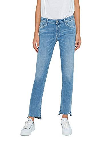 (Replay | Jeans Cropped Boot Fit Dominiqli Blue | WA646E.000.69C 455-28)