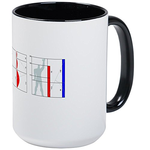 CafePress Architecture: I Build Buildings Large Mug Coffee Mug, Large 15 oz. White Coffee ()
