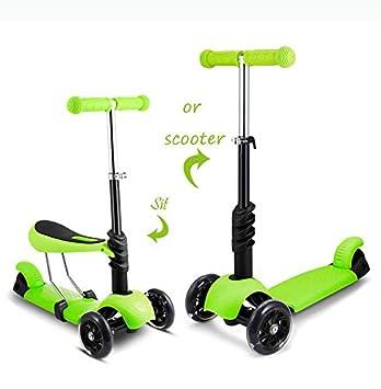 Hosmat Scooter - Patinete Infantil con Ruedas LED de ...