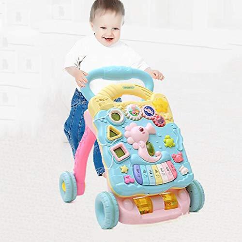 人気を誇る 618ヶ月 618ヶ月 B07GZSDJFG 赤ちゃん 音楽 プッシュ ウォーカー 多機能 ロールオーバー防止 調整可能な速度 子供 音楽 脳力を発達させる おもちゃ 歩くことを学ぶ B07GZSDJFG, 大勝軒:c71a71a3 --- a0267596.xsph.ru