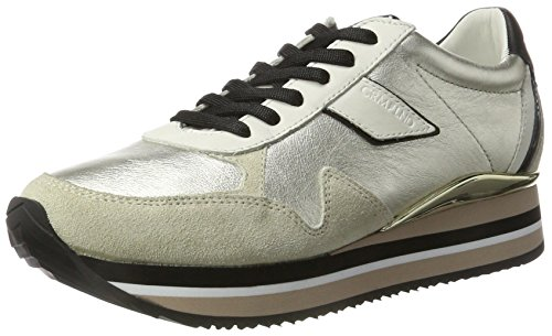 CRIME London Speed 4a, Zapatillas para Mujer Dorado (Platin)