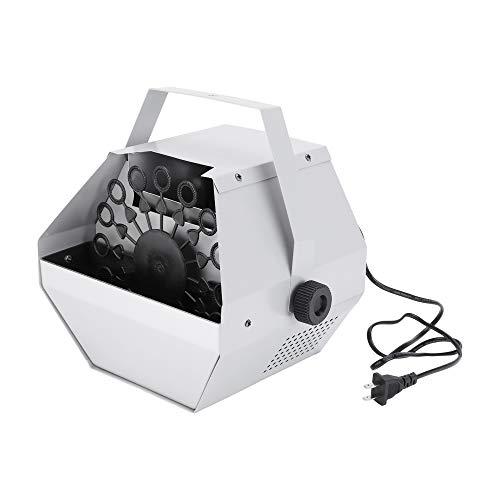 Tenozek 30W Automatic Mini Bubble Maker Machine Auto Blower for Wedding/Bar/Party/ Stage Show Silver by Tenozek (Image #7)