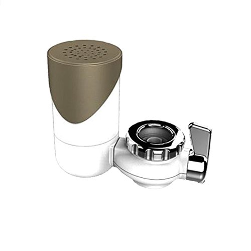 YOTHG Home And Kitchen Faucet Water Purifier/Faucet Filter/Purifier Water Filter (18X11X8cm,Dumb Gold) by YOTHG