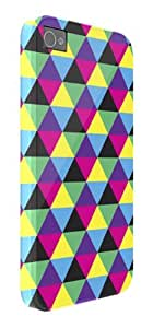 Geometric Colours iPhone 5 / 5S protective case (image shows iPhone 4 example)