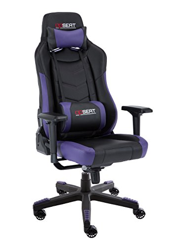 OPSEAT Grandmaster Series Computer Gaming Chair Racing Seat PC Gaming Desk Chair - Purple ()