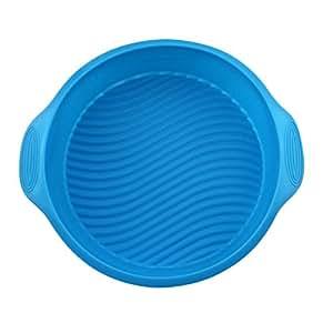 Forma redonda merssavo 1x 3d silicona para hornear Herramientas Moldes Maker Tray
