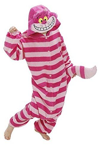 SAMGU Pajamas Anime Costume Adult Animal Onesie Cheshire Cat Cosplay Size M