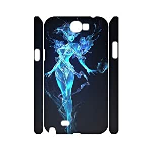 diy 3D Case Cover for Samsung Galaxy Note2 N7100 - Fairy case 3