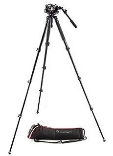 Manfrotto MVK504AQ 504 Aluminum Single Leg Video System (Black) (B00MA6HNHK)   Amazon price tracker / tracking, Amazon price history charts, Amazon price watches, Amazon price drop alerts