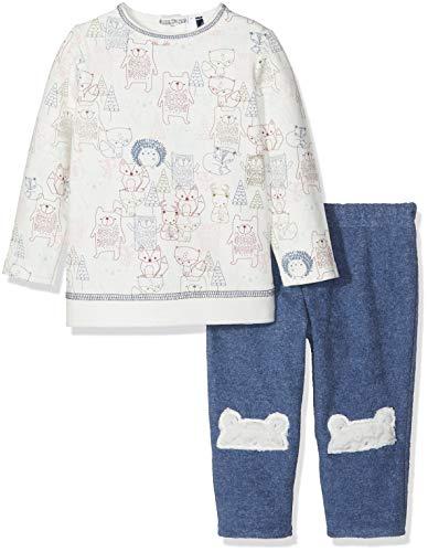 3 Pommes Bear Graphic Sweatshirt and Pant Set (12M)
