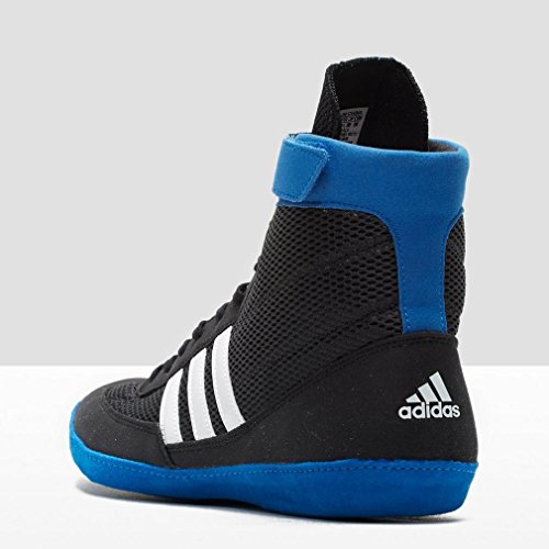adidas Combat Speed IV Botas de Lucha Libre Adulto Negro/Azul/Blanco