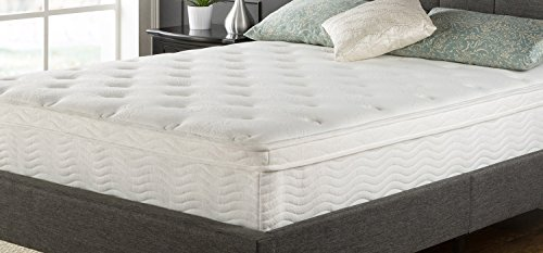 Night Therapy Spring 12 Inch Euro Box Top Spring Mattress, Twin ()