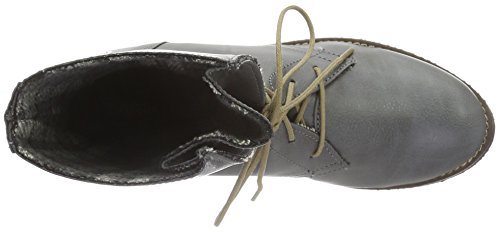 Jonny`s Vegan Dagmar, Zapatillas de Estar por Casa para Mujer Gris - Grau (Gris)