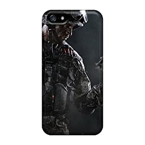 Hot Fashion EfxqxTl6330BFZJi Design Case Cover For Iphone 5/5s Protective Case (warface Soldier)