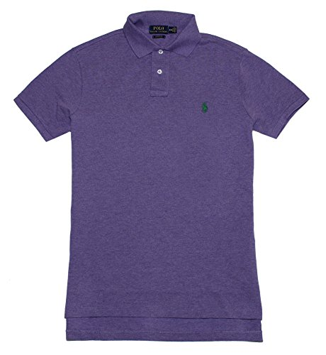 Ralph Lauren Custom-Fit Polo aus Piqué - Saf Purple