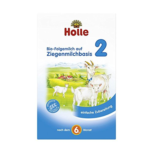 Holle Bio Folgemilch auf Ziegenmilchbasis 2 (8 x 400 gr)