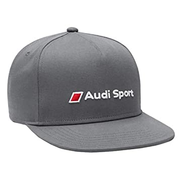 6fe3b3f760f Audi Motorsport casquette gris flat snapback  Amazon.fr  Auto et Moto