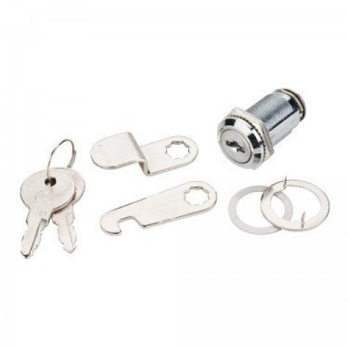 Hardware Resources HR-78739CH 1-1/2'' Length Cam Lock - KEYED ALIKE - Chrome (2)