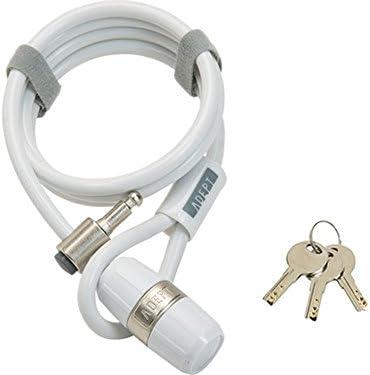 ADEPT (アデプト) ラッド 812 ケーブルロック ホワイト LKW26101