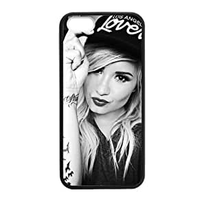 Gators Florida USA Camp Rock Actress Demi Lovato Beautiful Girl Famous Singer Here We Go Again iPhone 5,5S TPU(Laser Technology...