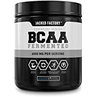 BCAA Powder (Fermented) - 6g Branched Chain Essential Amino Acid Supplement for Improved Muscle Recovery, Reduced…