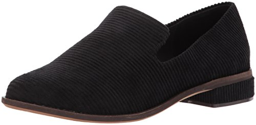 Kelsi Dagger Brooklyn Women's Arbor Loafer, Black, 7.5 M US Ladies Corduroy
