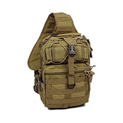430987d01a outlet New Men Military Tactical Travel Hiking Messenger Backpack Chest  Waterproof Bag