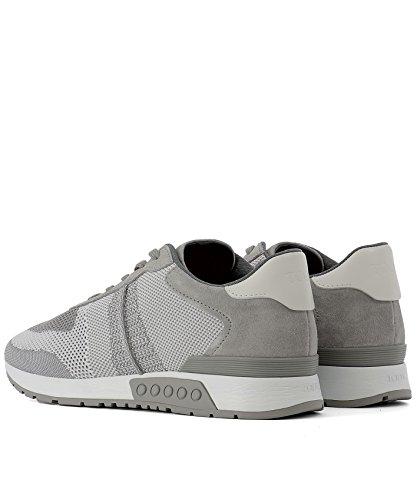 Tod's Sneakers Uomo XXM15A0S580RQ2065D Pelle Grigio