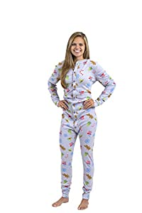 Hometown Clothing BUNDLE:Fleece Onesie Union Suit, AND 10% off Coupon Adult Size