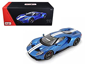 Ford Gt Blue Exclusive Edition   Model Car By Maisto