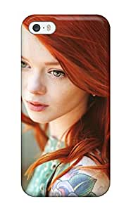 Special ZippyDoritEduard Skin Case Cover For Iphone 5/5s, Popular Women Redheads Phone Case