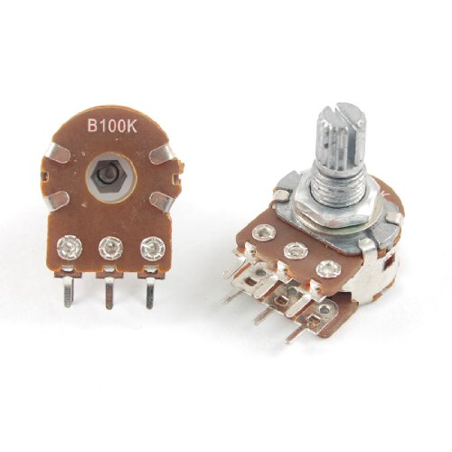 Linear Taper (Uxcell a12022200ux0324 100K Ohm Linear Dual Taper Rotary Potentiometers Pots, 5 Piece)