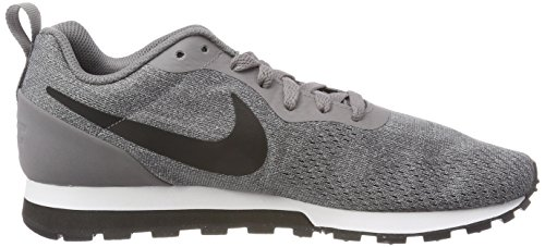 Nike MD Runner 2 Eng Mesh, Zapatillas de Gimnasia Para Hombre Gris (Gunsmoke/black-vast Grey-white 003)
