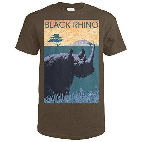 Dark Brown Rhino - 8