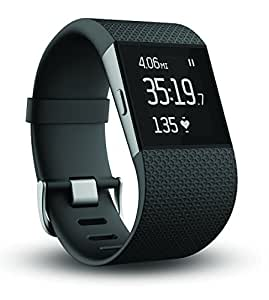 Fitbit Surge Fitness Superwatch, Black, Large